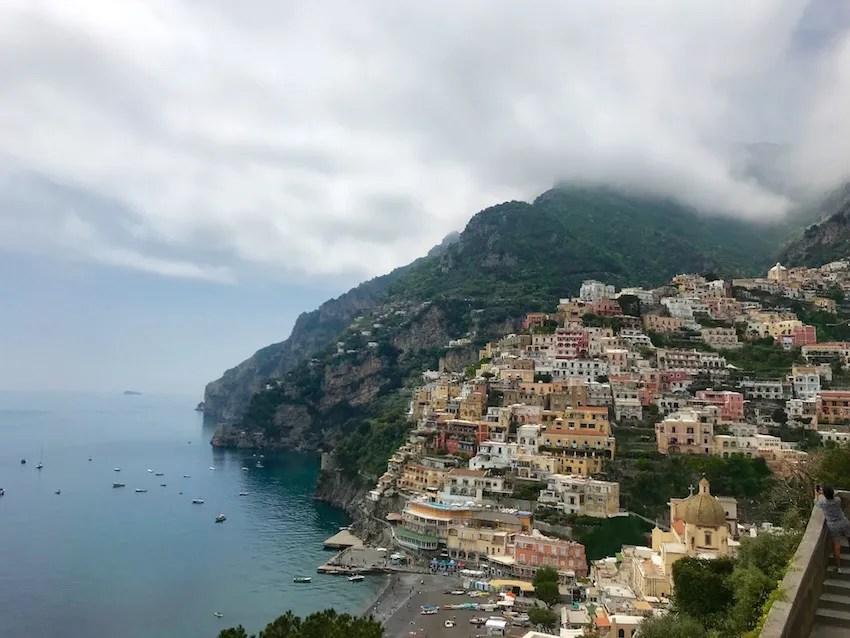 Positano on the Amalfi Coast