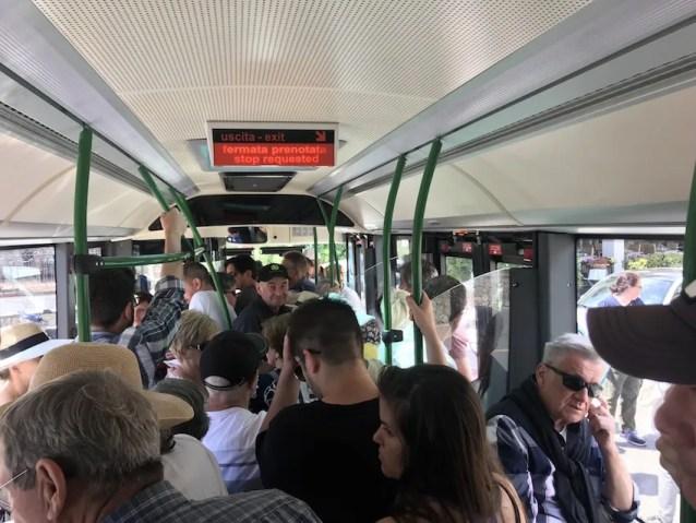 Bus to Taormina