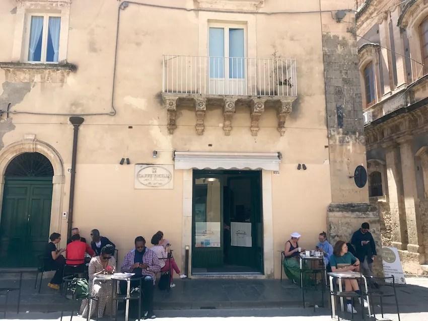 Cafe Sicilia in Noto