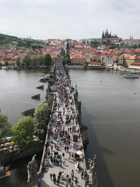 Charles Bridge a must see with four days in Prague