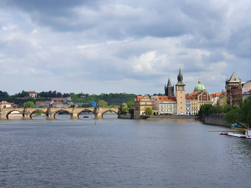 Charles Bridge in Prague. A must see with four days in Prague