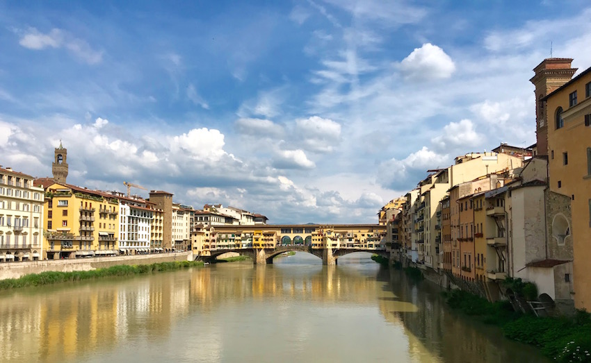 Ponte Vecchio should be on your list of sights with 24 hours in Florence