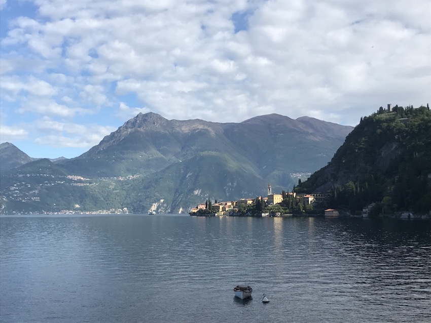 Walk between Varenna and Fiumelatte