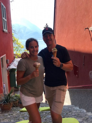 With four days in Varenna, a gelato along the waterfront is a must