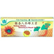 Ginko Biloba+Ginseng+Royal jelly 10 Fiole Co & Co