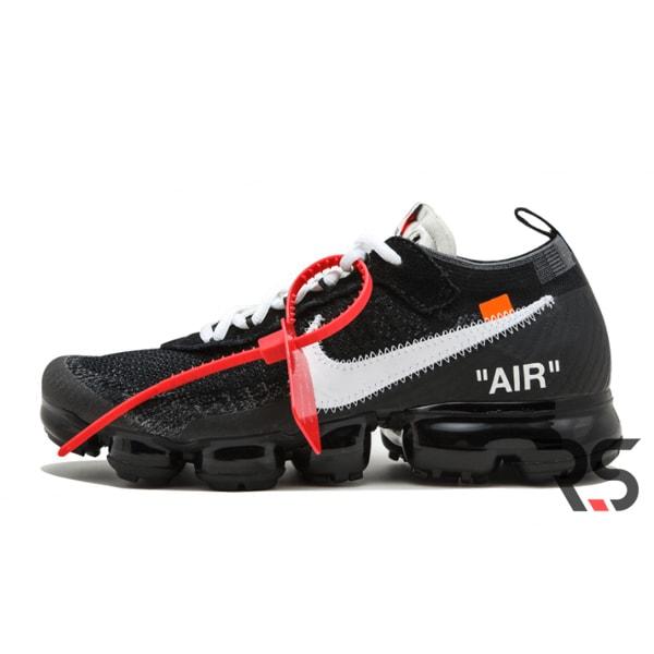 Кроссовки Off White x Nike Air VaporMax «Black»