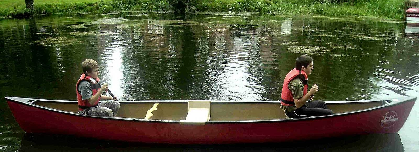 Canoe hire Beccles and Geldeston