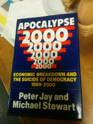 Published in 1989. Alarmingly close to the truth.