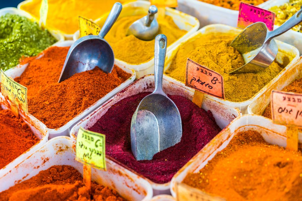 a picture of some spices because copywriters add depth and flavour to your web content