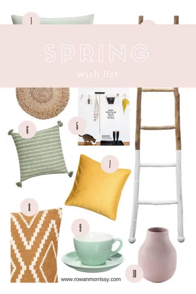 Spring Homeware Wishlist