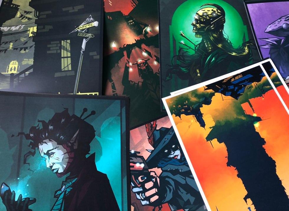 a range of beautiful art prints