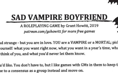 Sad Vampire Boyfriend logo