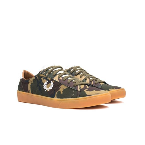 Fred-Perry-Spencer-Camo-Canvas-British-Olive-5