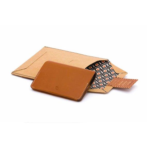 Bellroy Card Holder Caramel