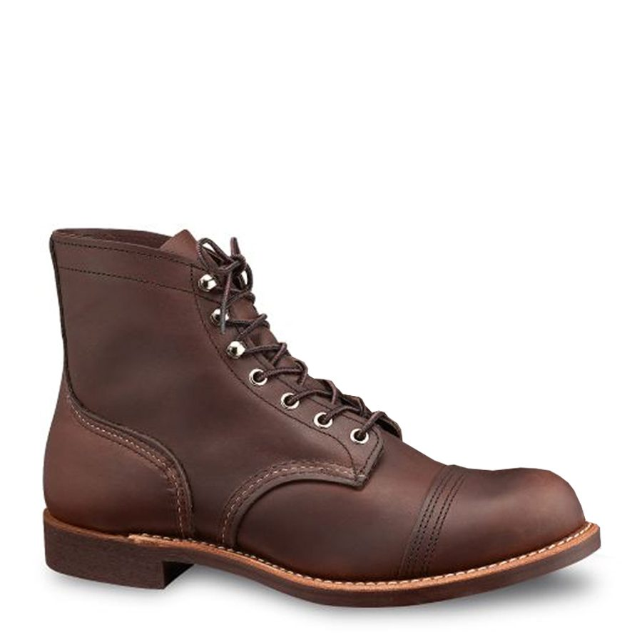 51b188cfc9 Home   Products   Footwear Men s   Red Wing Men s   Red Wing 8111 Iron  Ranger 6″ Amber Harness Men s