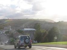 Over the top of Moor Hill looking down to Salendine Nook