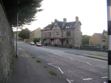 The start of the Moor Hill