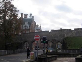Walled city York