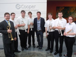 """With Ty Pennington on """"The Revolution"""" at Cooper Hospital"""