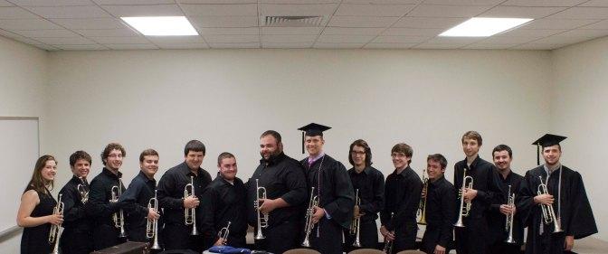 The Trumpet Ensemble at 2014 Commencement