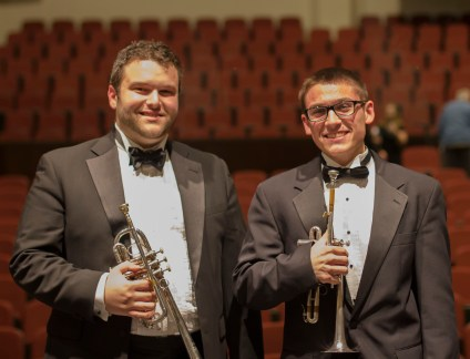 Messiah Trumpets George and Brian