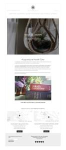 acupuncture oakland wellness clinic website design