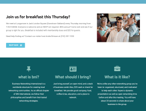 oakland bni web design