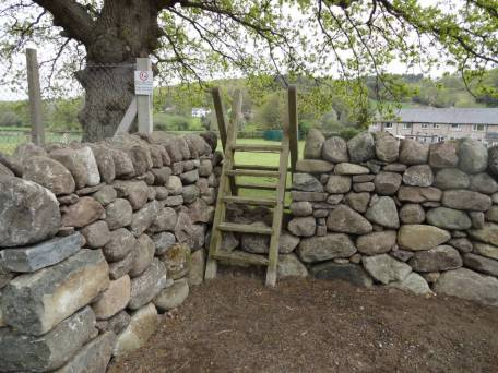 New stile and permissive path