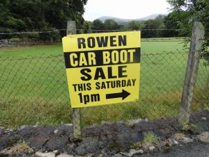 This way to the car boot sale