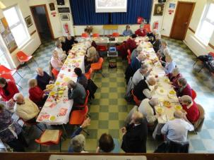 Christian Aid lunch