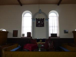 Inside Seion Chapel, Rowen