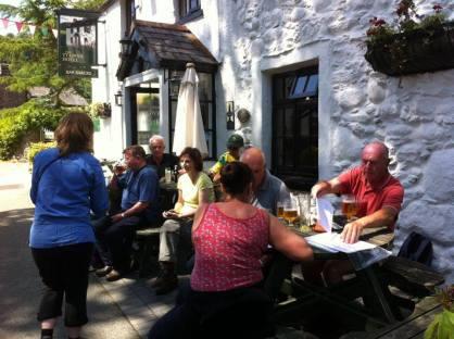 Ty Gwyn, Rowen. Picture from Cerdded Conwy Walks.