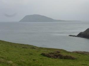 Bardsey Island from Mynydd Mawr