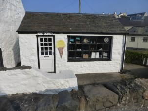 Ice cream shop, Aberdaron