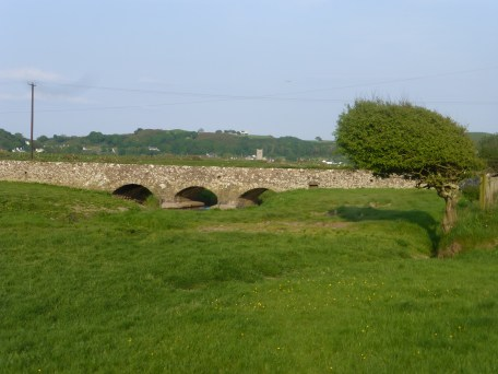 Pont Towyn Bridge near Hell's Mouth