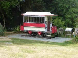 Horse drawn tram at Glan y Weddw