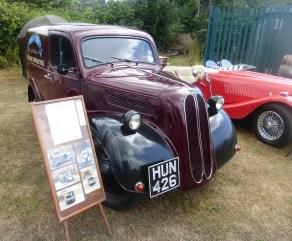 Classic van at Rowen Carnival