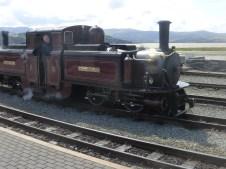 Day 1, Porthmadog Railway Station