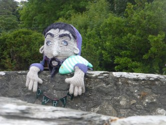 Gwril the monster at Llwyngwril
