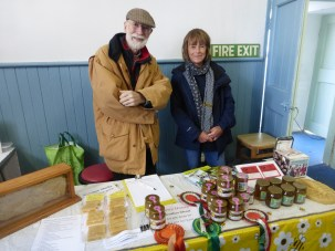 Conwy Beekeepers' stall