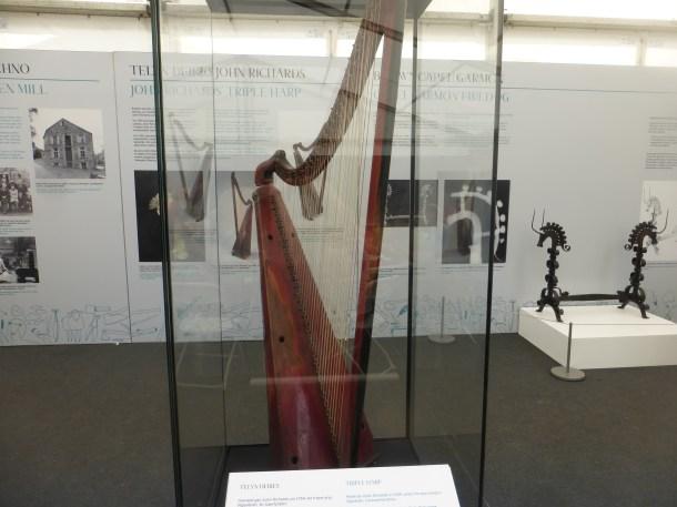 Harp from Llanrwst