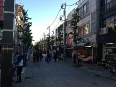 En face de la gare de Todoroki