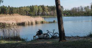 trasy rowerowe Jaworzno - Zalew Łęg