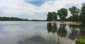 trasy rowerowe Sosnowiec - Zalew Sosina