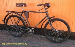 Renowacja roweru Bałtyk z 1946 roku