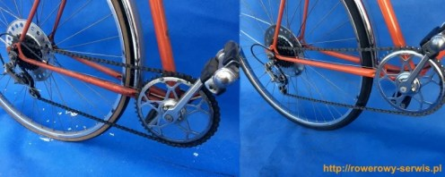 Renowacja roweru Kormoran 1974