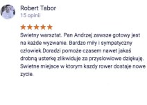 Opinia Robert Tabor