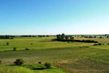 Krajobraz z rezerwatu Przęślin
