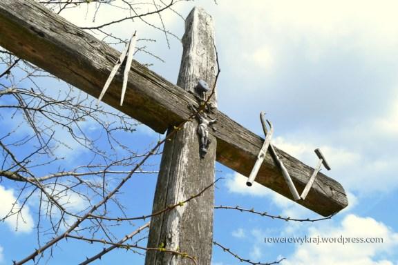 drewniany krzyż