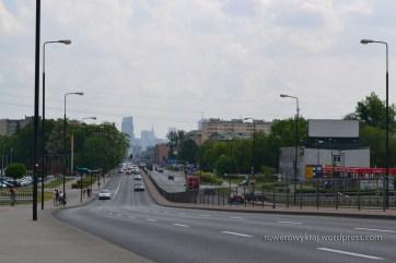 Widok z ul. Górczewskiej